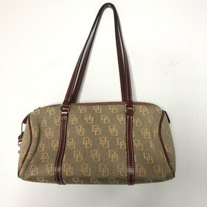 Vintage Dooney and Bourke Bag Y2K Baguette Bag